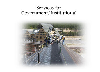 Services For Government/Institutional